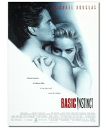 "Basic Instinct Movie Poster 24x36"" - Frame Ready - USA Shipped - $17.09"
