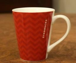 Starbucks Coffee Company Mug Red Chevron 12 oz Cup 2013 - $7.91