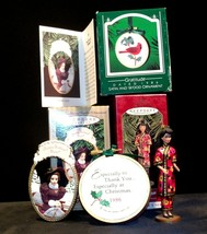 Hallmark Handcrafted Ornaments 1997 BARBIE & 1986 Gratitude AA-191773 Collectibl image 1