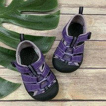 Keen Kids Newport Water Shoes Size 5 Purple Black Closed Toe Washable - $22.76