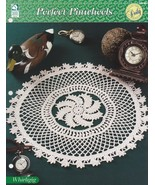 Whirligig Perfect Pinwheels Doily, House of White Birches Crochet Patter... - $2.95