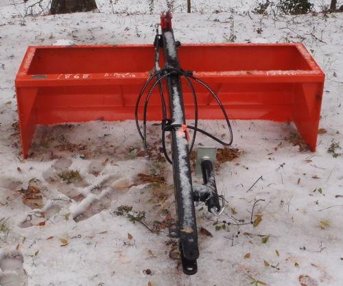 Industrias Americas Pull Type 6 Foot Scrape Box w/Hydraulic Cylinder