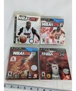 PS3 NBA 2K7 2K11 2K12 2K14 Lot Video Games Playstation 3 Play Station - $14.95