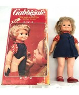 Vintage 1972 Gabbigale Talking Doll Original Box rare Sold Not Working - $93.49