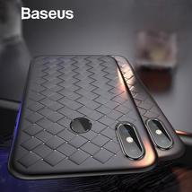 Baseus For Xiaomi 8 Case Weaving Grid Pattern Silicone Case For Xiaomi 8... - $15.99