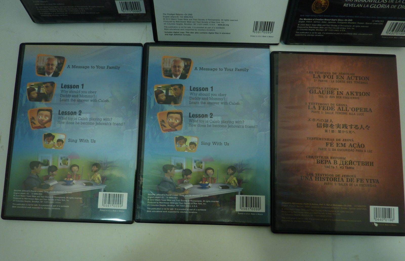 Lot of 6 Religious DVD Set