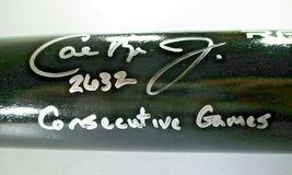 CAL RIPKEN JR. / MLB HOF / AUTOGRAPHED RAWLINGS PRO BLACK BASEBALL BAT / STEINER image 3
