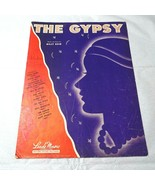 Vintage 1946 The Gypsy Billy Reid Piano Sheet Music Leeds Music - $4.94