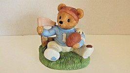 Home Interiors Gifts HOMCO 14981-98 Game Day Bears Boy Figurine 1998 CL5-31 - $8.99