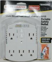 ShockBuster 30440002 5 Outlet Ground Fault Circuit Interrupter Safety Outlet image 1