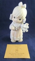 Precious Moments He Covers The Earth With His Beauty #142654 Figurine Mint Cond. - $10.00