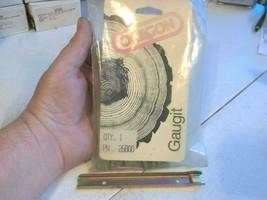 "1 OREGON 26800 Gaugit .060"" single raker saw chain depth gauge end drop style - $14.03"
