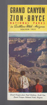 Grand Canyon Zion Bryce National Parks in Southern Utah Arizona 1952 Bro... - $14.03