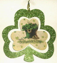 SAINT PATRICK'S HANGING DECOR SIZE 11 x 11 - £2.15 GBP
