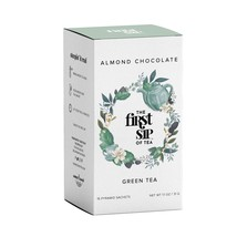 The First Sip Of Tea Almond Chocolate Green Tea, 16Count Tea Box - $9.99