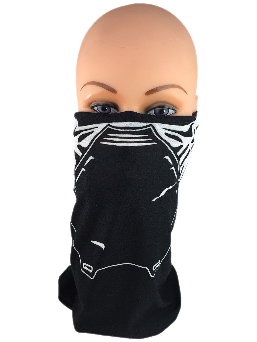 Kylo Red Star Wars Tube Face Mask, Balaclava, Neck Gaiter, Bandanna FREE SHIP