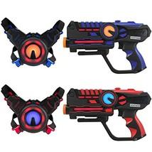 ArmoGear Infrared Laser Tag Guns and Vests - Laser Battle Game Pack Set ... - $88.32