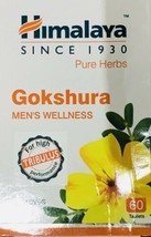 Tribulus Terrestris Gokshura 60 Tablets  Improves male hormone Himalaya - $12.27