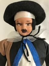 "Vintage Ethnic Doll Original Argentina Costume Pre-Owned. 9"" - $14.60"