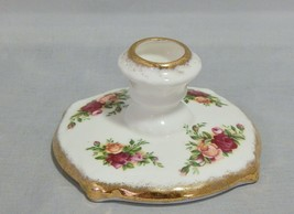 Royal Albert Old Country Roses Low Candlestick - $13.86