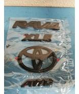 Genuine Toyota Rav4 XLE AWD 2019 Blackout Emblem Overlay Kit PT948-42193-02 - $97.00