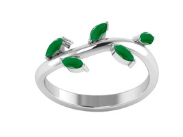 Exclusive-Green Onyx 925 Sterling Silver Ring Shine Jewelry Size-9 SHRI1284 - €11,98 EUR