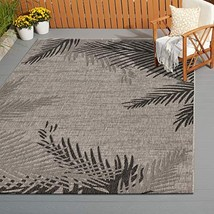 LR Home CAPTI81016BEL5070 Captiva Shaded Palms Indoor/Outdoor Area Rug, ... - $109.20