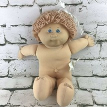 Vintage 1984 Cabbage Patch Kids Doll Short Hair Blue Eyes Xavier Roberts... - $19.79