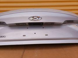 15-17 Hyundai Sonata Trunk Lid W/o Camera Spoiler or Taillights image 6