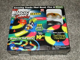 Magic Tracks Crash 10 ft of Flexible, Bendable Glow in The Dark As Seen ... - $18.69