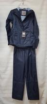 3392252 McKinley Cyclone Men's Hooded Full Zip Jacket & Pant Rain Suit N... - $19.79