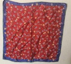 22x22 inch Scarve by Vera Stars Scarf Made in Japan - $14.80