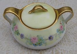 Antique French T &V Tressemann & Vogt Limoges Sugar Bowl France - $24.99