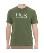HUK Performance Fishing Gear KScott Logo Tee XL Heather Green T-Shirt $25 - $23.74