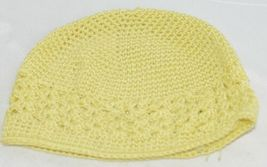 Unbranded Infant Toddler Hat Stretch Removable Bow Yellow White image 6