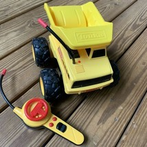 2003 Hasbro TONKA RC Remote Control Mighty Dump Truck Works Great - $29.69