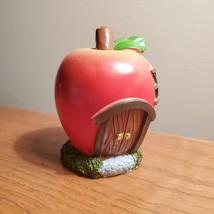 Apple Fairy House, Miniature House, Fairy Garden Crafts, Garden accessories image 4