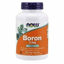 NOW Supplements, Boron 3 mg, 250 Capsules - $51.56