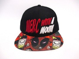 Marvel Deadpool Hat Merc With A Mouth One Size - $19.79