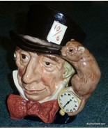 """LARGE """"Mad Hatter"""" Royal Doulton Character Toby Jug D6598 Alice In Wonde... - $202.73"""