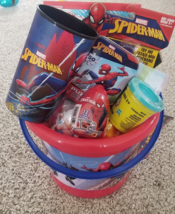 Unique One of a Kind - Marvel Spiderman Themed Easter Birthday Gift Basket - $29.99