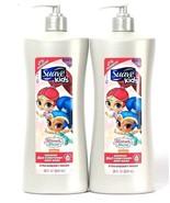 2 Suave Kids 28oz Shimmer & Shine Strawberry Magic 3in1 Shampoo Conditio... - $25.99