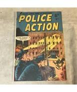 Police Action #1 Calvert Australian Edition 1950s Fine Condition - $79.19