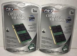 NEW Optima Memory DDR2 1GB RAM Lot of 2 PC2-5300 DDR2-667/533/400 - $14.69