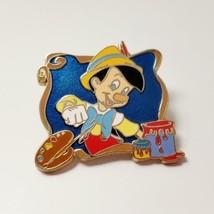 Disney Jerry Leigh Pinocchio Pin Designer Artist Pallette Paint Brush Fr... - $9.99