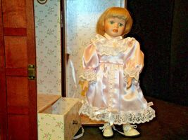 12 inch Porcelain Doll with her Own Closet AA-191991  Collectible image 11