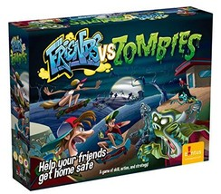 Friends Vs Zombies, a Board Game of Skill, Action and Strategy Ideal for Game Ni - $16.12