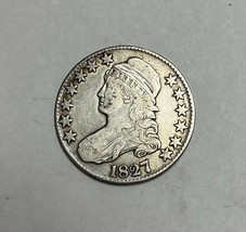 1827 Capped Bust Half Dollar Very Fine - $139.85