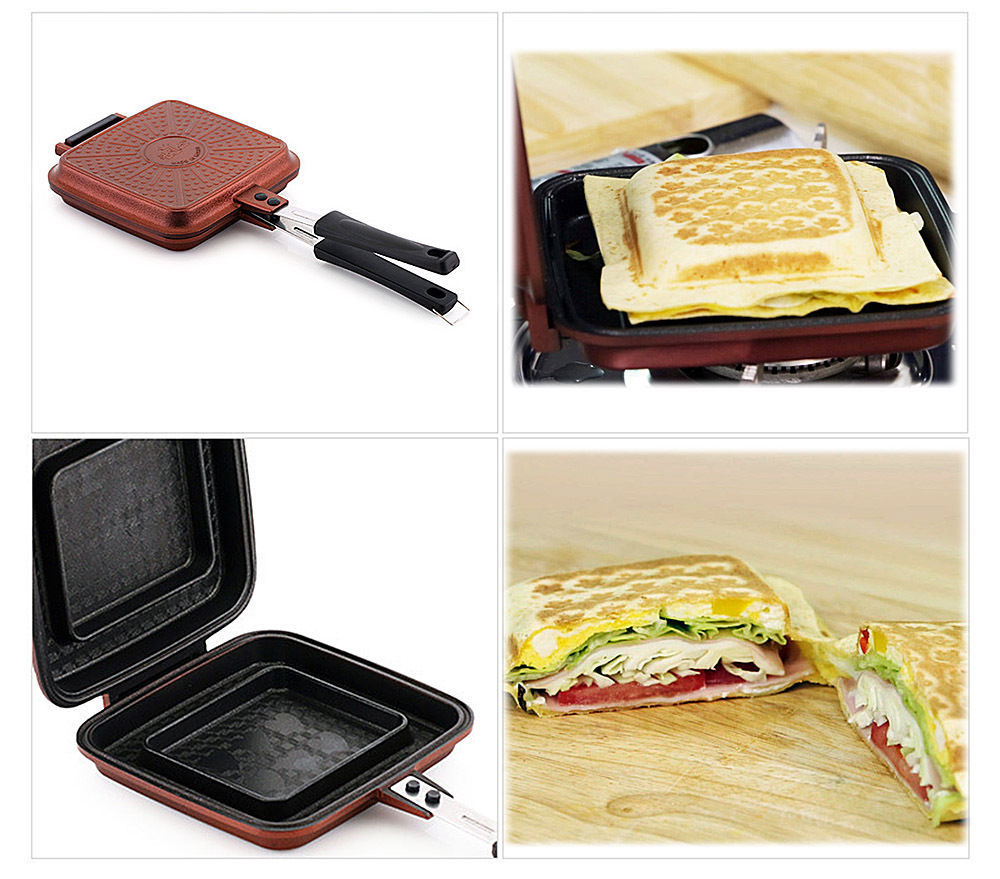 Sandwich maker Nonstick Double Side Pressure Pan Sandwich pan