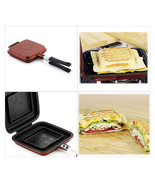 Sandwich maker Nonstick Double Side Pressure Pan Sandwich pan - $39.68